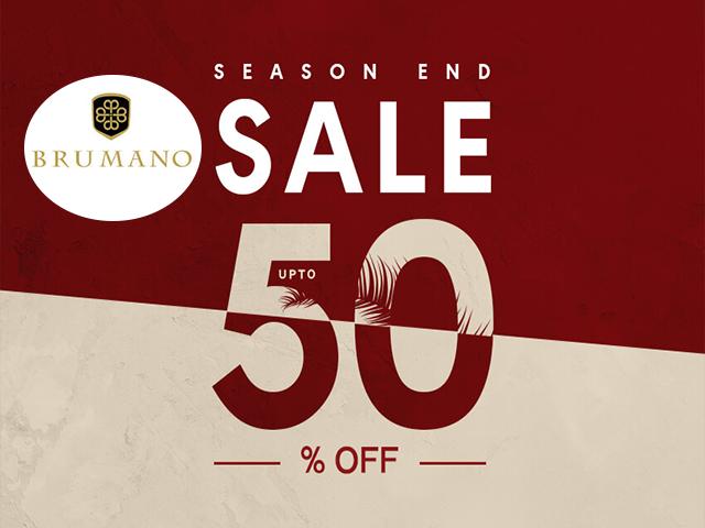 Brumano Season end sale 2019