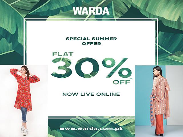 Warda Summer Sale 2019