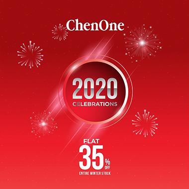 ChenOne New Year Celebrations! ChenOne 2020 Sale