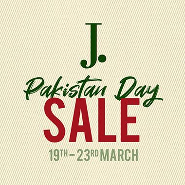 J. Junaid Jamshed Pakistan Day Sale 2020! Flat 23% OFF on all items