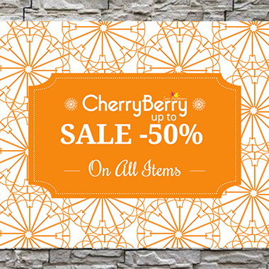 Cherry Berry Online Sale! Up to 50% off on all items