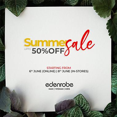 Edenrobe Summer Sale! Up to 50% off