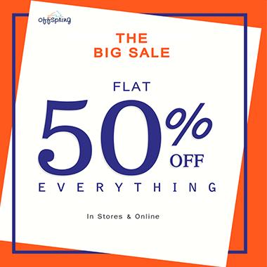 Offspring big Summer Sale! Flat 50% off