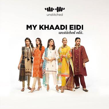 Khaadi Eid Unstitched Edit Alert! Versatile Collection 2020