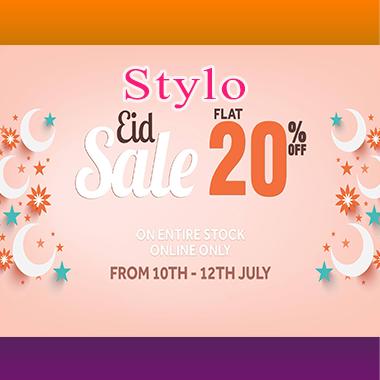 Stylo Eid Sale 2021! Flat 20% off online